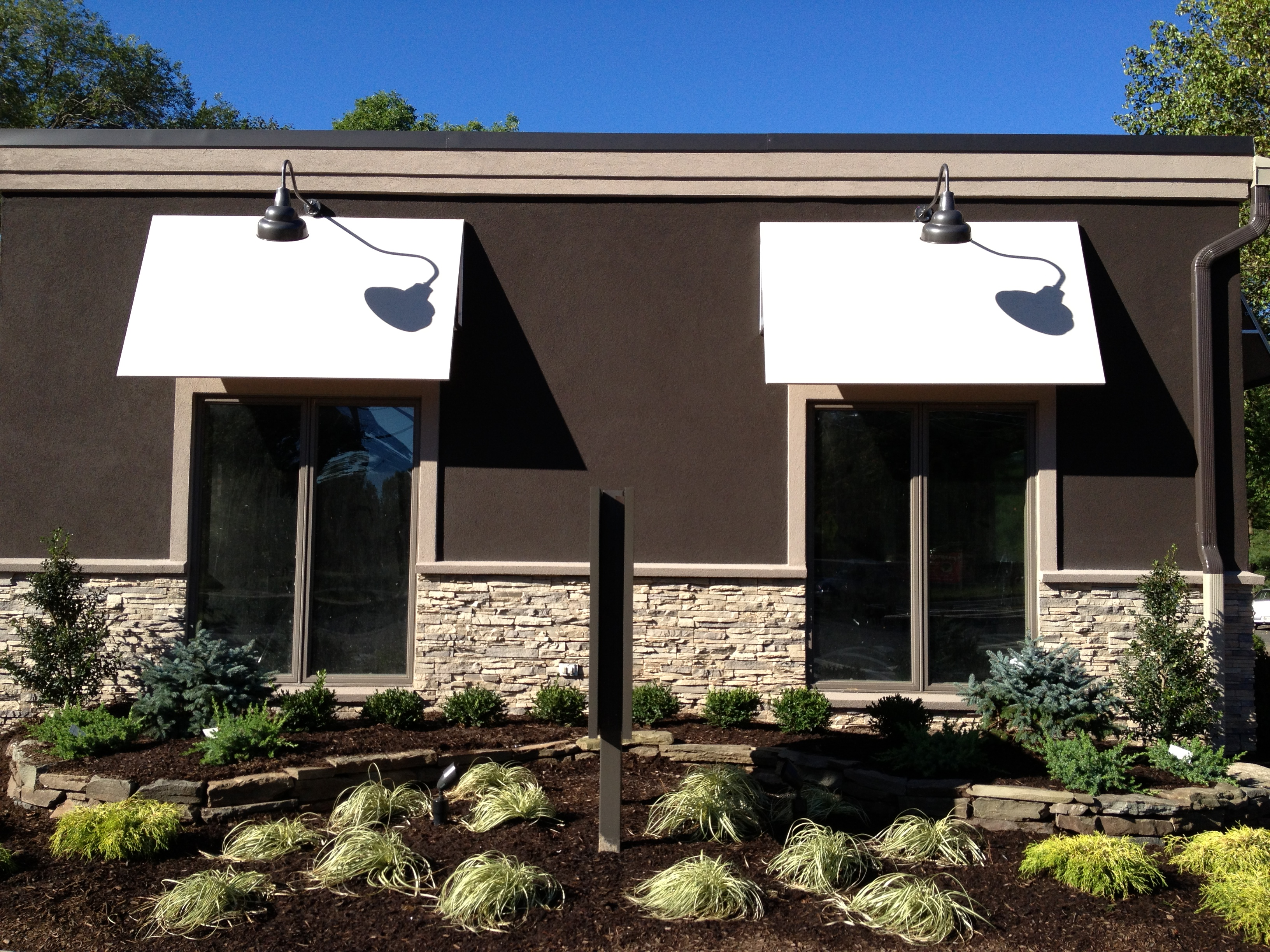 Backlit Amp Lighted Canopy In Nj New Jersey Awning Company